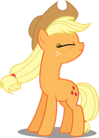 Vector #50 - Applejack #5 by DashieSparkle