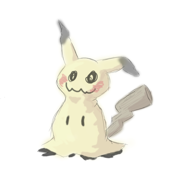 Mimikyu by Crescentfeathermoon