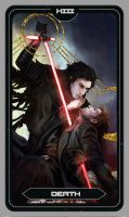 Kylux Death Tarot Card by Brilcrist
