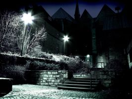 Paderborn at night - Part IV by MadPotato