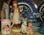 Blue Willow and decades of collectibles by MystMoonstruck