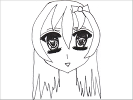 My Second Anime drawing by Kaycee12