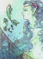 ACEO Under water by Aiko282