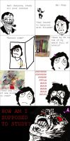 Rage Comics: How Am I Supposed to Study? by kimtan1999