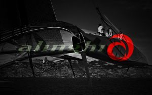 Alinghi Sailing team 5 by JohnnySlowhand