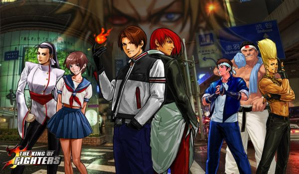 KoF Japan Team Wallpaper by BLFML72
