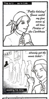 Pirates theme comicstrip Week1 by fire-doused