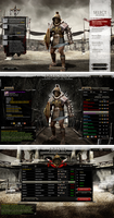 PC Game UI - Gladiator by Cashong