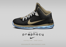 Nike Air Max Prophecy 'Scoring Title' by BBoyKai91