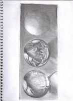 Art Class XXVIII: Echer Orbs by Ark-of-Menphis