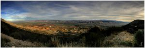 Bekaa Valley Panorama by ZeeGrizzly