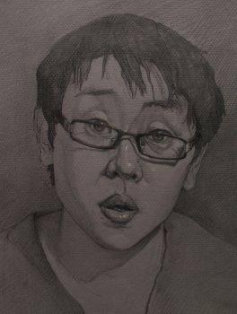 Self portrait by Mr-Tri