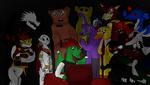 Playing Five Nights at Freddy's by thedragonlover95