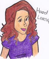 my first Hazel Leveque by Ara-bell