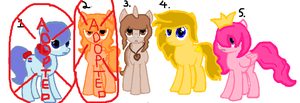 MLP Adoptables!! by young-clive-dove