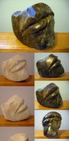 Soapstone Lips by red3183