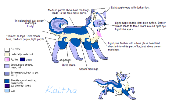 Reference:  Kaitra by Attiekitty