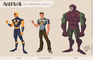 Nova - Animated by Ryan Lord by RyanLord