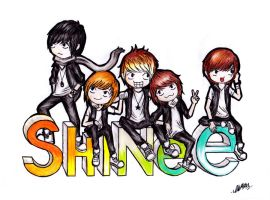 SHINee by pie-chrstn