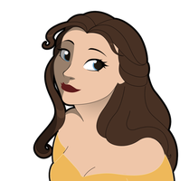Belle avatar WIP 2 by RwoRomeo