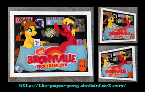 Bronyville Thank You ShadowBox by The-Paper-Pony
