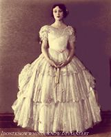 Dolores Costello in 1860s dress by Idontknowwhoyouknow