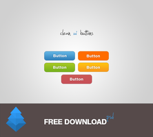 UI Buttons FREE DOWNLOAD by lpzdesign