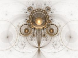 The Golden Compasses by FractalEuphoria
