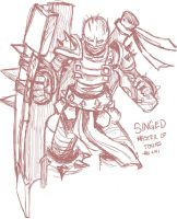 Singed by RinTheYordle