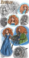 Brave, Merida Randomness! by Violet1202