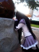 Homura Akemi Meguka is Suffering by Dollie Dearest by DollieDearestCosplay