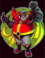 COLORED Marama's Dr Robotnik by lupienne