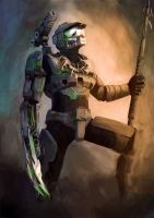 Master Chief Predator by ShrubbyTreeBush