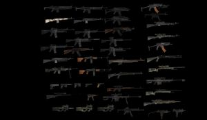 COD4 WEAPONS SUPER PACK by ChristopherJRedfield