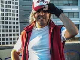 Terry Bogard cosplay 9 by IronCobraAM