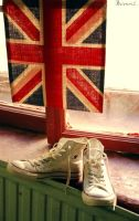 Converse and UK. by Bunnis