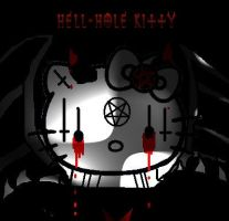 Hell-hole kitty by Deaths-imbrace