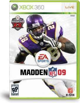 Adrian Peterson Madden Cover by youngcheezy7