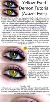 Yellow Eyed Demon Tutorial by JoeleneyBeaney