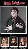 Dark Shadows Characters by RetardMessiah