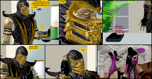 Mileena's Party part 1 by Texmoder