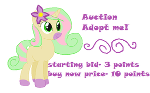 MLP oc auction -closed- by SkyBoltthepony