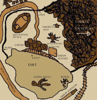 "JKR's ""maraurders map"" by decat"
