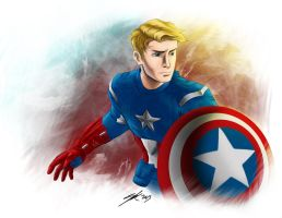 Captain America by rice-claire