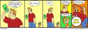 Furballed Comics: The Missing Drink by twiggy-trace