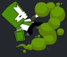 Castle Crashers - Green by JunkyCow