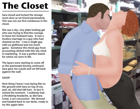 The Closet Pg01 by minnman20