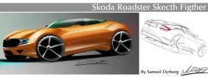 Skoda Roadster by dyrborgdesign