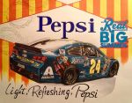 Jeff Gordon 2014 Pepsi-Cola Daytona car by JonOwens