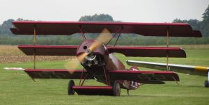 foker red baron just landed by Sceptre63